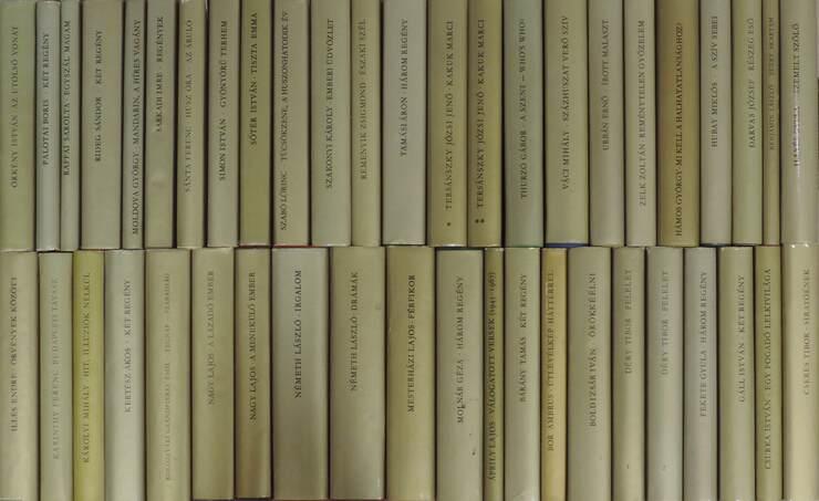 """""""45 kötet a 30 év sorozatból (nem teljes sorozat)"""""""