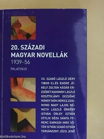 20. századi magyar novellák 1939-56