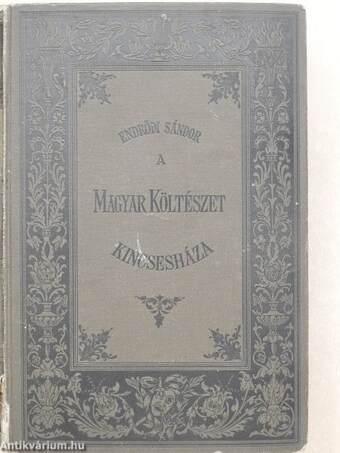 A magyar költészet kincsesháza (rossz állapotú)