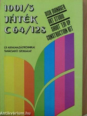 1001/3 játék C 64/128