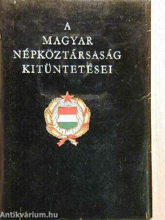 A Magyar Népköztársaság kitüntetései