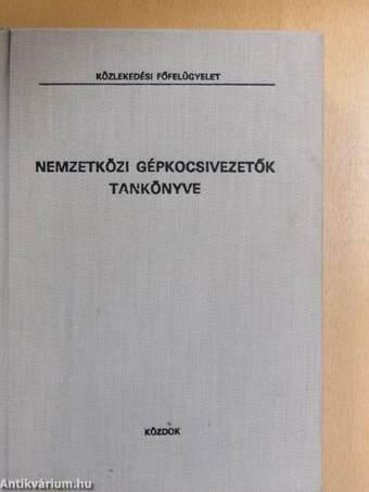 Nemzetközi gépkocsivezetők tankönyve