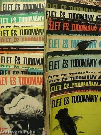 Élet és Tudomány 1968. (nem teljes évfolyam)
