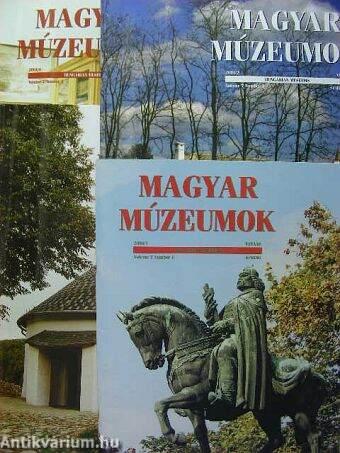 Magyar Múzeumok 2001. tavasz-tél