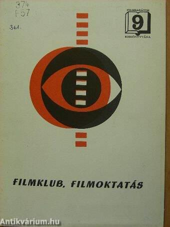 Filmklub, filmoktatás