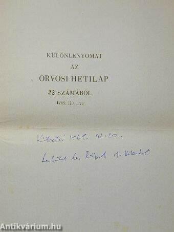 Az altatószerrel elkövetett öngyilkosságok alakulása Budapesten az 1960-1967. években