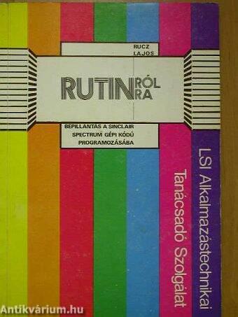 Rutinról-Rutinra