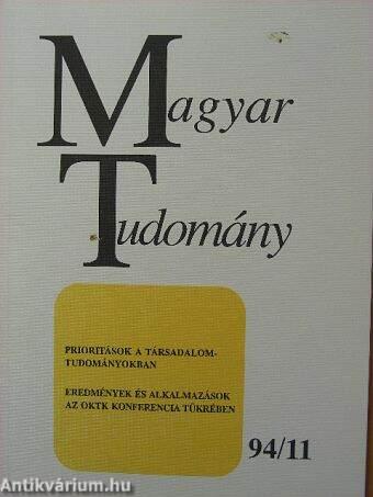 Magyar Tudomány 1994. november