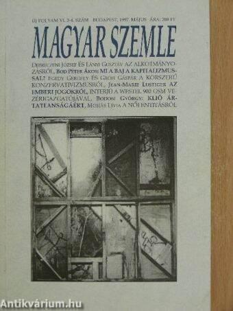 Magyar Szemle 1997. május