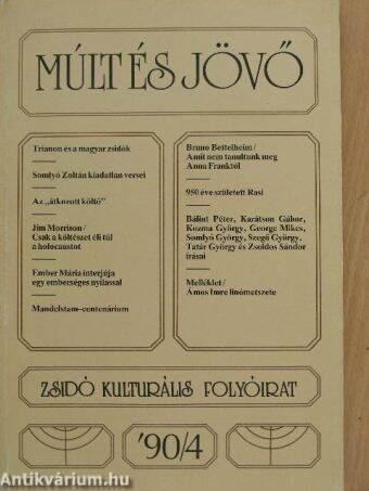Múlt és Jövő 1990/4.