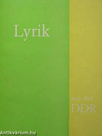 Lyrik aus der DDR