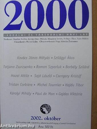 2000 2002. október