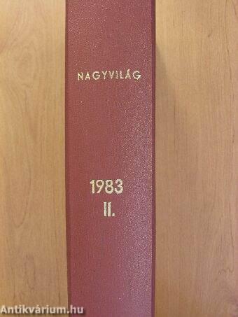 Nagyvilág 1983. július-december (fél évfolyam)