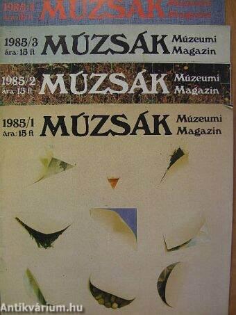Múzsák 1985/1-4.