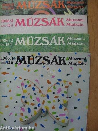 Múzsák 1986/1-4.