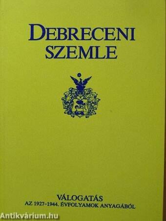 Debreceni Szemle
