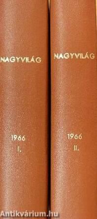 Nagyvilág 1966. (nem teljes évfolyam) I-II.