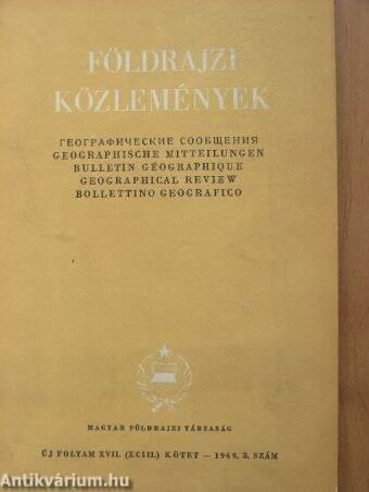 Földrajzi Közlemények 1969/3.