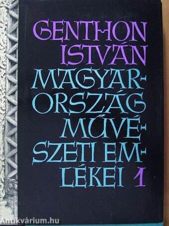 Magyarország művészeti emlékei 1.