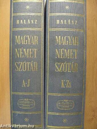 Magyar-német szótár I-II.