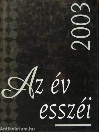 Az év esszéi 2003