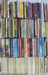 """""""150 kötet akció-, kaland- és bűnügyi regény"""""""