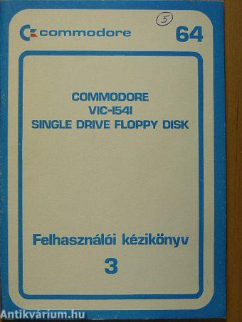 Commodore VIC-1541/Single drive floppy disk
