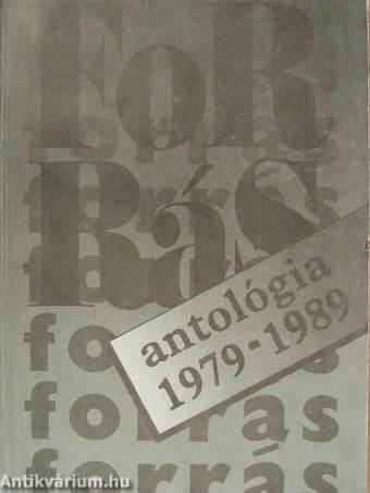 Forrás antológia 1979-1989