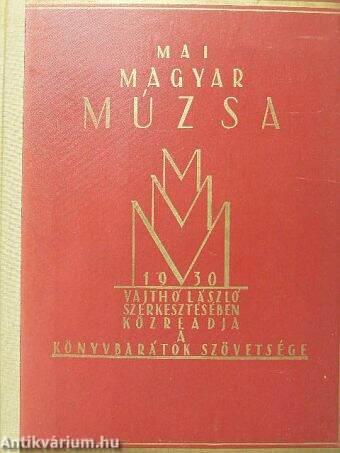 Mai Magyar Múzsa 1930