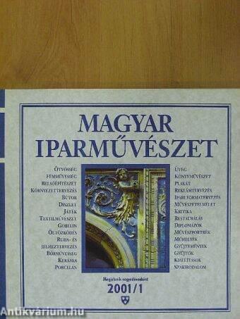 Magyar Iparművészet 2001/1