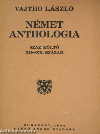 Német anthologia