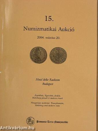 15. Numizmatikai Aukció