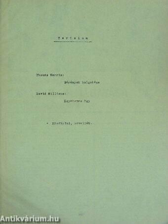 Folytatásos regények egyedi gyűjteménye a Rakéta Regényújságból (2 db)
