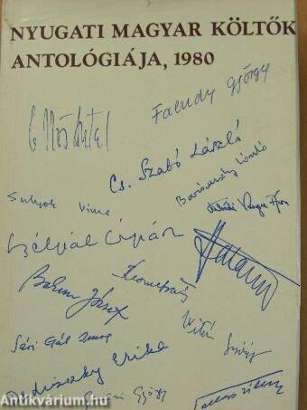 Nyugati magyar költők antológiája 1980