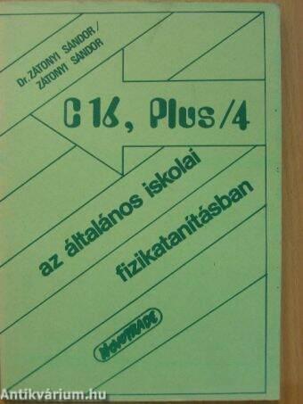 C-16, Plus/4 az általános iskolai fizikatanításban