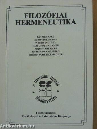 Filozófiai hermeneutika