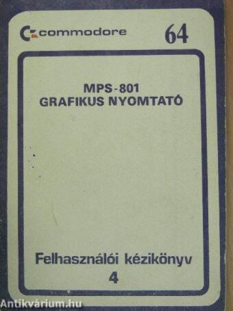 MPS-801 Grafikus nyomtató