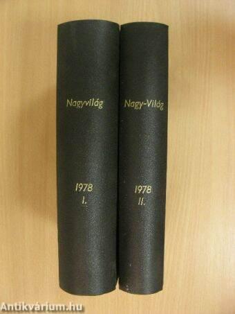 Nagyvilág 1978. (nem teljes évfolyam) I-II.