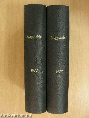Nagyvilág 1973. (nem teljes évfolyam)/1975. június I-II.