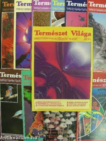 Természet Világa 1991. (nem teljes évfolyam)