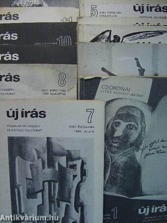Új Írás 1984. január-december