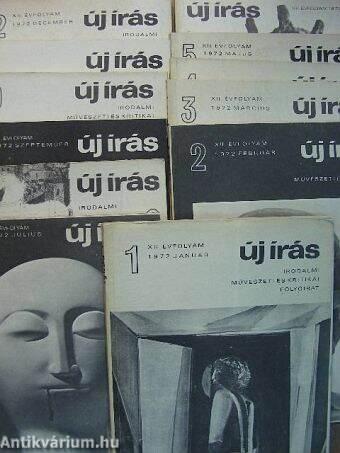 Új Írás 1972. január-december