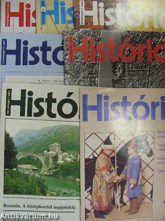 História 1995. (nem teljes évfolyam)
