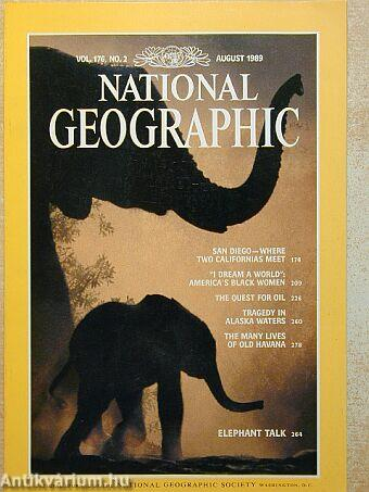 National Geographic August 1989