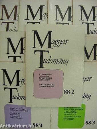 Magyar Tudomány 1988. február-december (nem teljes évfolyam)