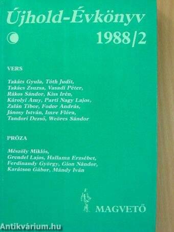 Újhold-Évkönyv 1988/2