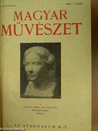 Magyar Művészet 1934/1-12.
