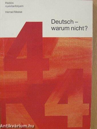 Deutsch - warum nicht? 4.