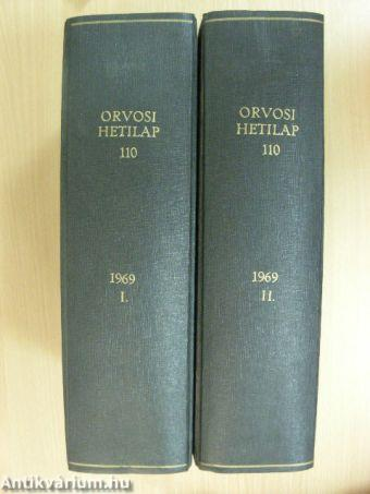 Orvosi hetilap 1969. I-II.