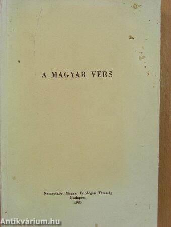 A magyar vers